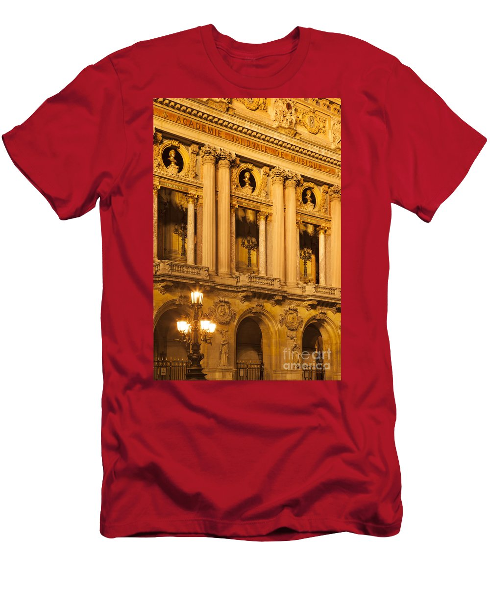 Architectural Men's T-Shirt (Athletic Fit) featuring the photograph Opera House by Brian Jannsen