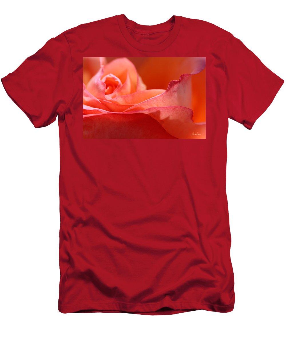 Orange Men's T-Shirt (Athletic Fit) featuring the photograph Orange Sensation by Diana Haronis