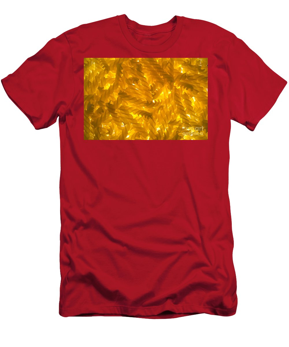 Pasta Men's T-Shirt (Athletic Fit) featuring the photograph Pasta by Mats Silvan