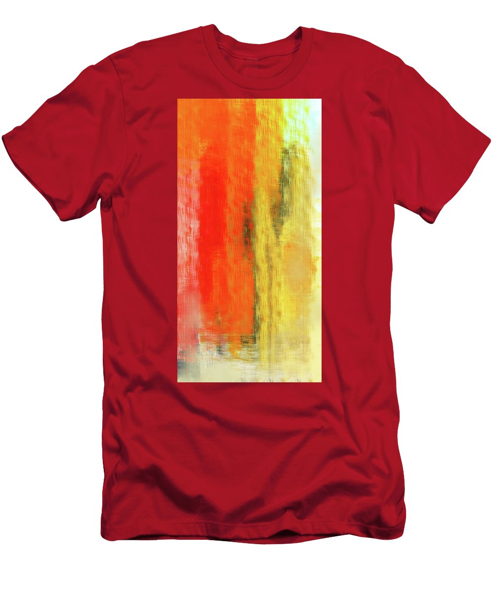 Fine Art Men's T-Shirt (Athletic Fit) featuring the digital art September Nightmare by David Lane