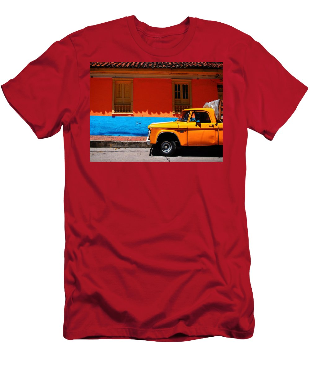 Special Delivery Men's T-Shirt (Athletic Fit) featuring the photograph Special Delivery by Skip Hunt