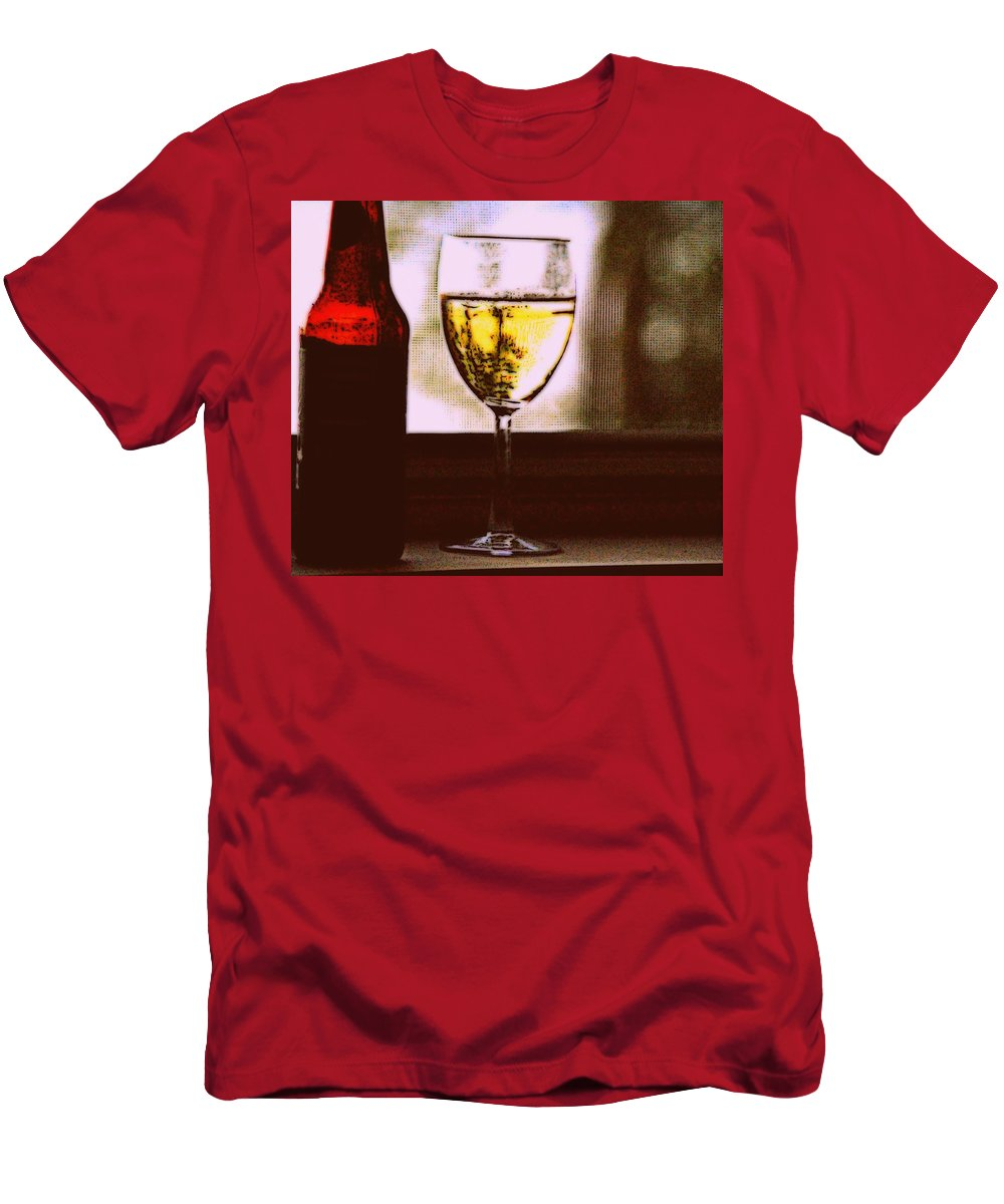 Wine Men's T-Shirt (Athletic Fit) featuring the photograph The Moment by Marysue Ryan