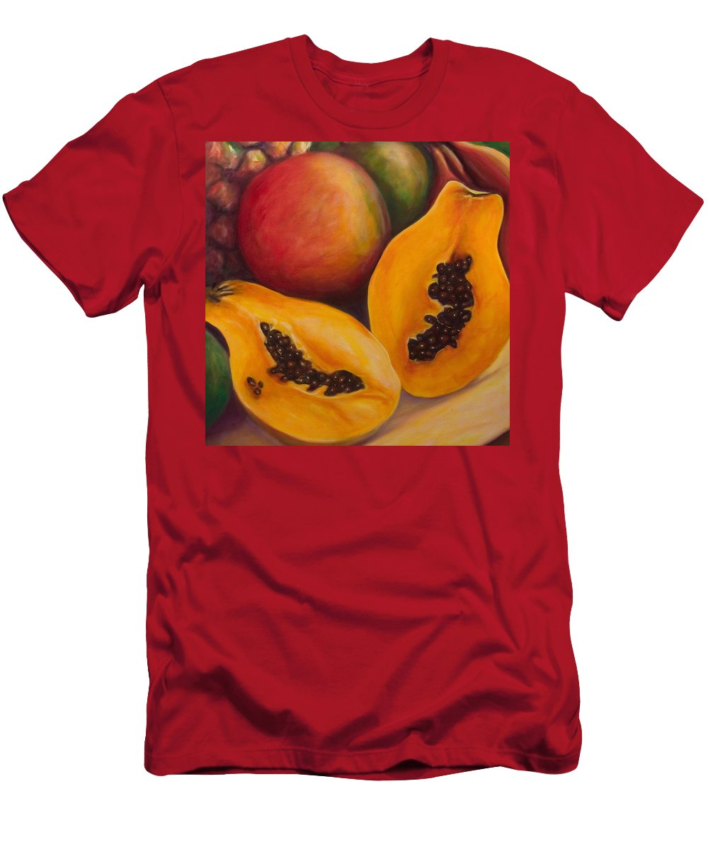 Twins T-Shirt featuring the painting Twins Crop by Shannon Grissom