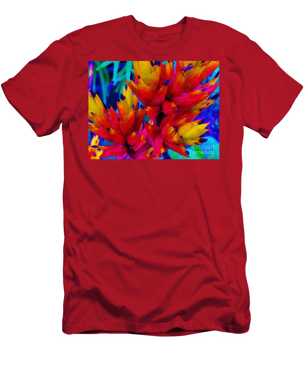 Men's T-Shirt (Athletic Fit) featuring the photograph Welcome To The Tropics by Keri West