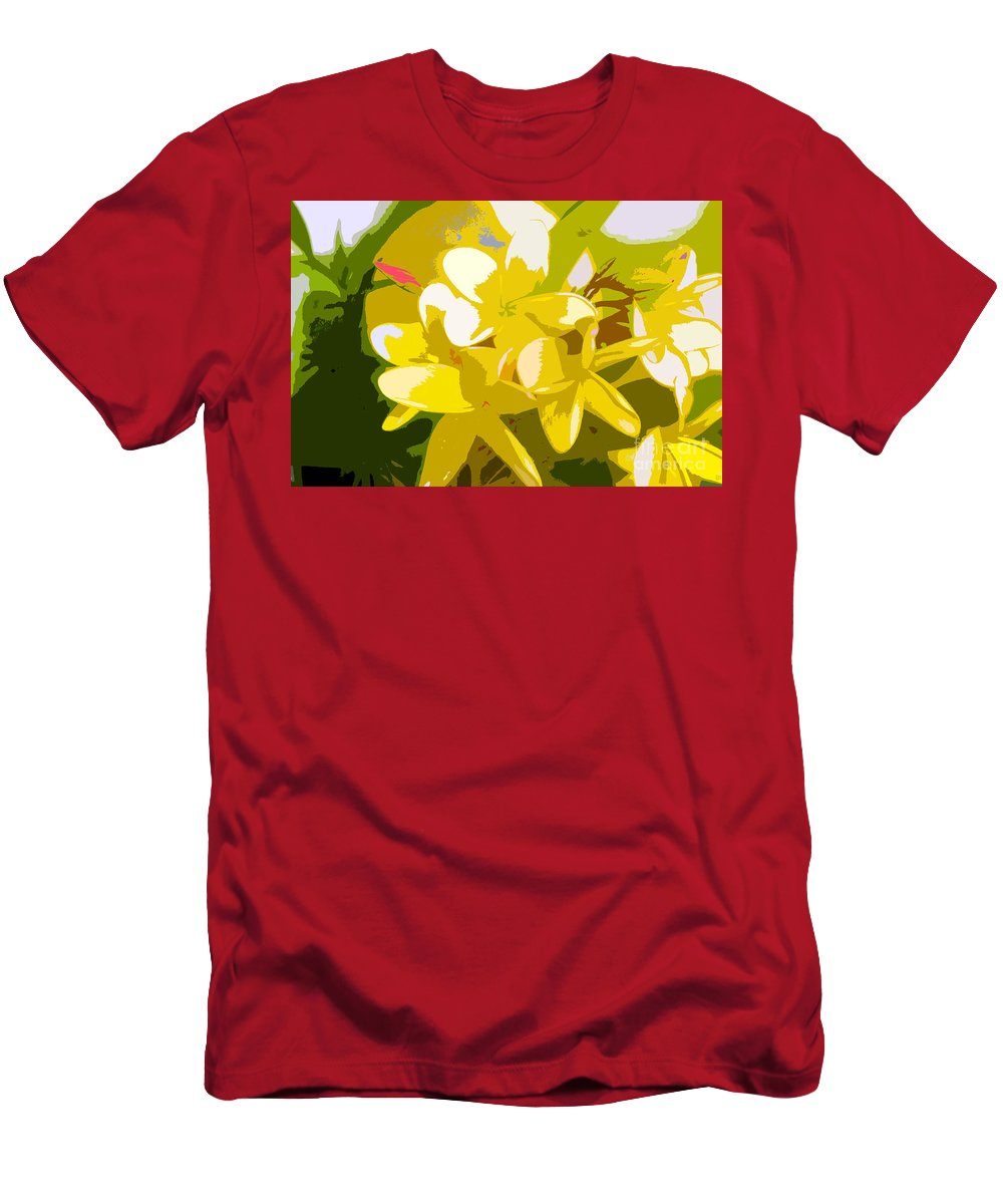 Summer Men's T-Shirt (Athletic Fit) featuring the painting Colors Of Summer by David Lee Thompson