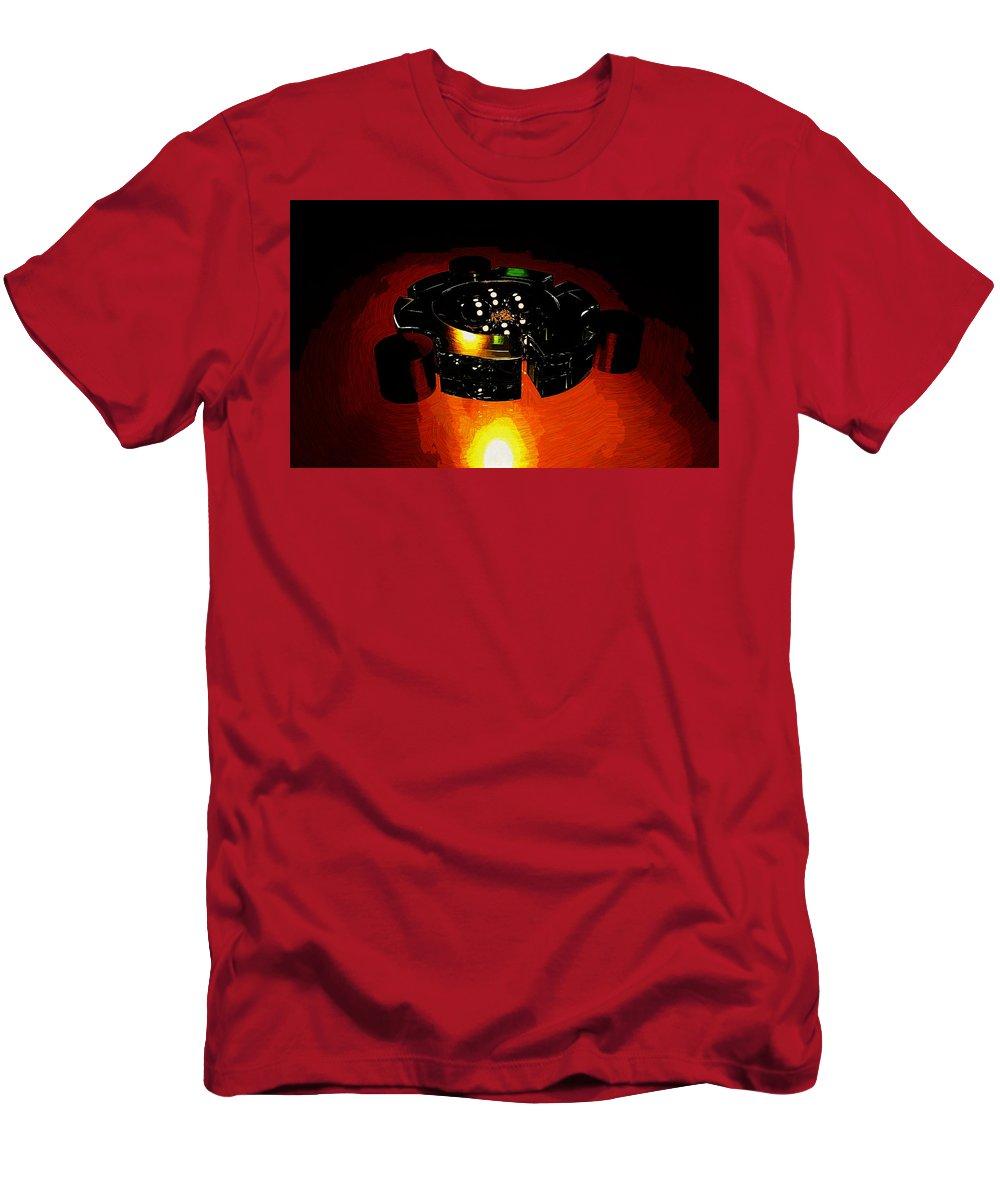 Ubuntu Men's T-Shirt (Athletic Fit) featuring the digital art Ubuntu by Lora Battle