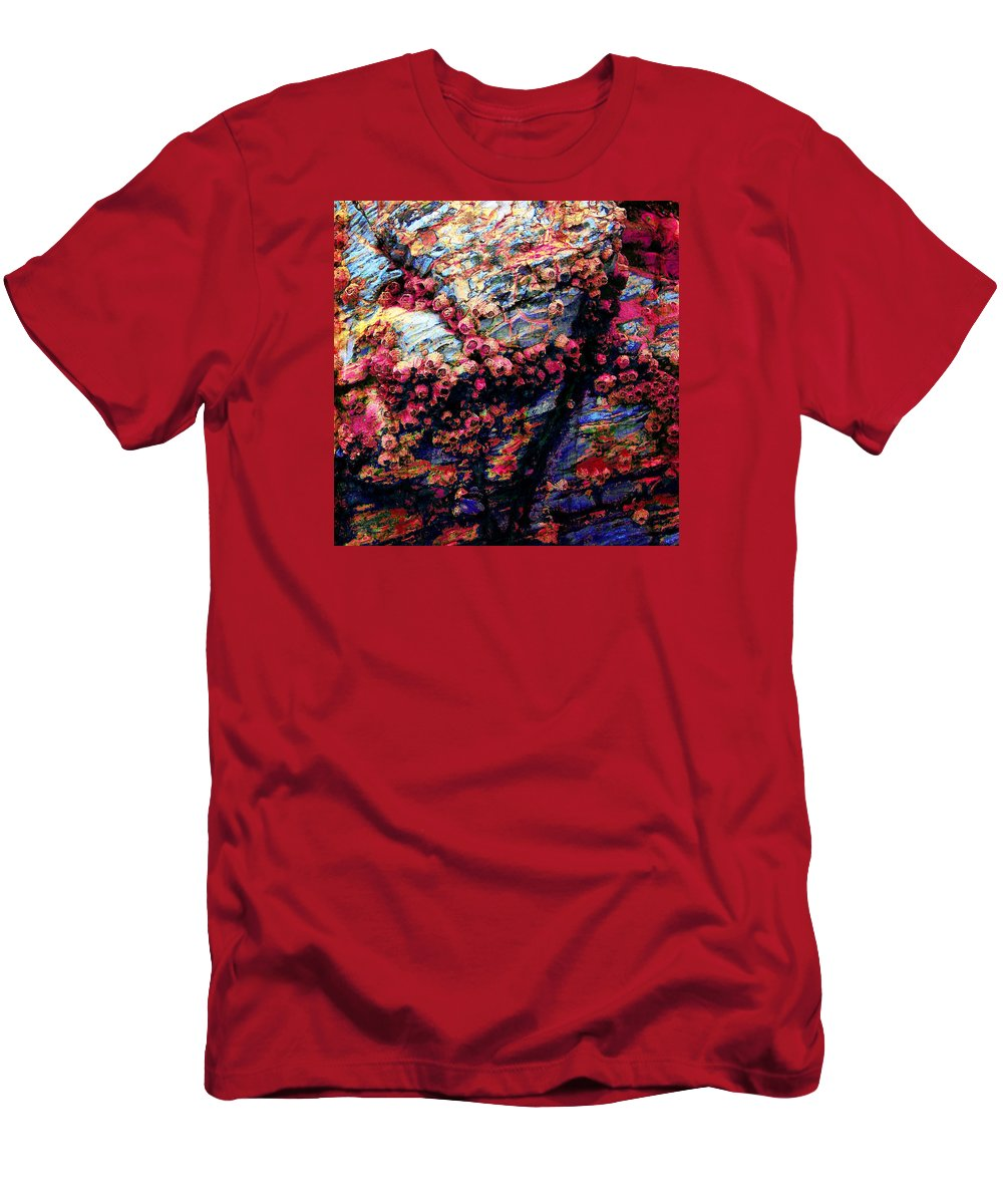 Abstract Men's T-Shirt (Athletic Fit) featuring the photograph 109 by Timothy Bulone
