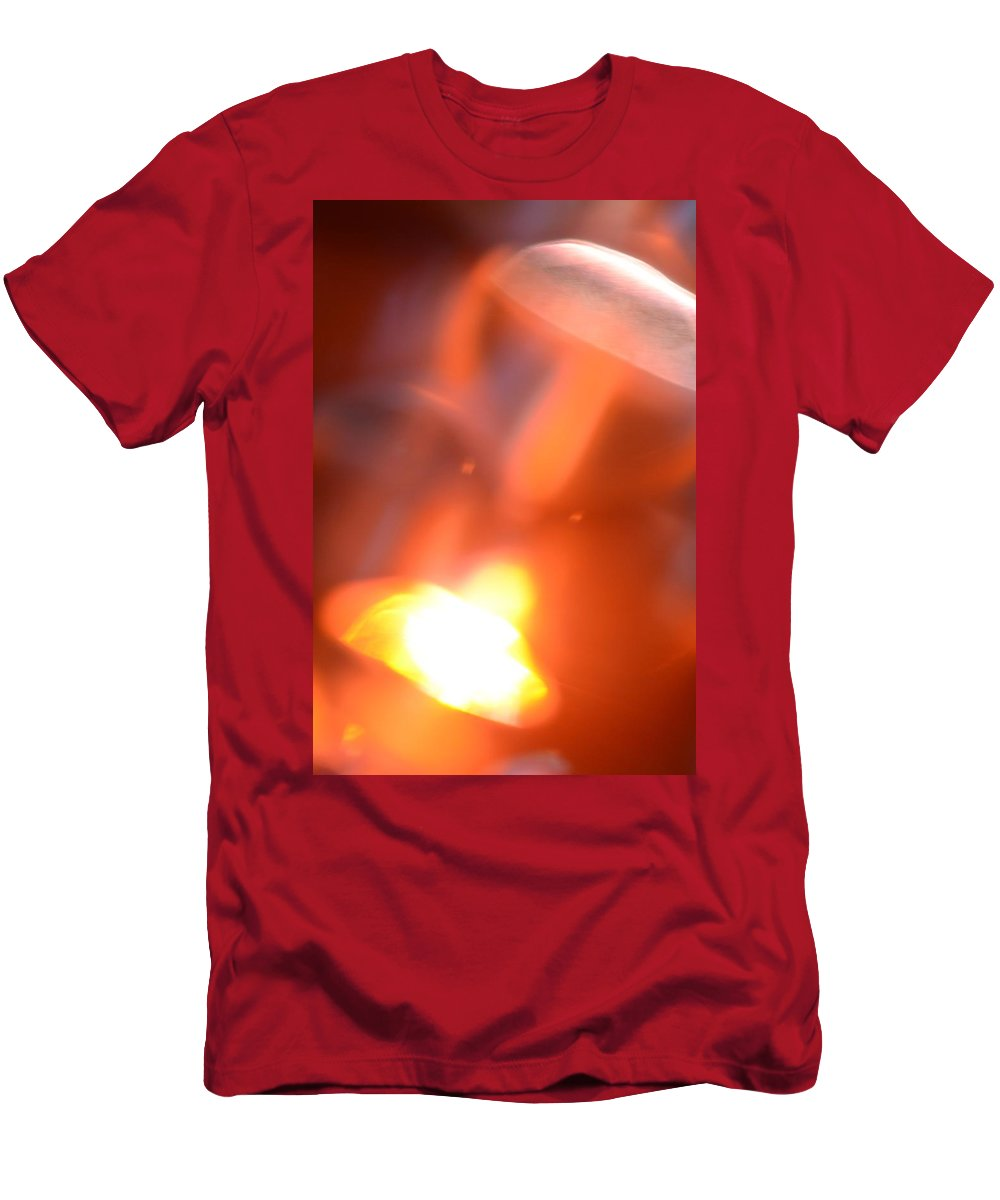 Rainbow Men's T-Shirt (Athletic Fit) featuring the photograph Rainbow Art by Hartmut Knisel