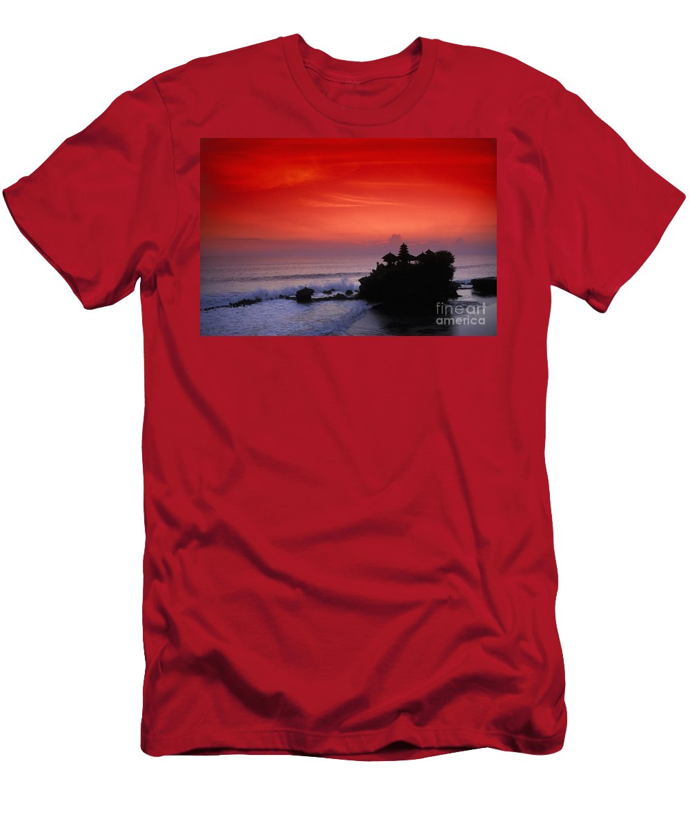 Bali Men's T-Shirt (Athletic Fit) featuring the photograph Indonesia, Bali by Gloria & Richard Maschmeyer - Printscapes