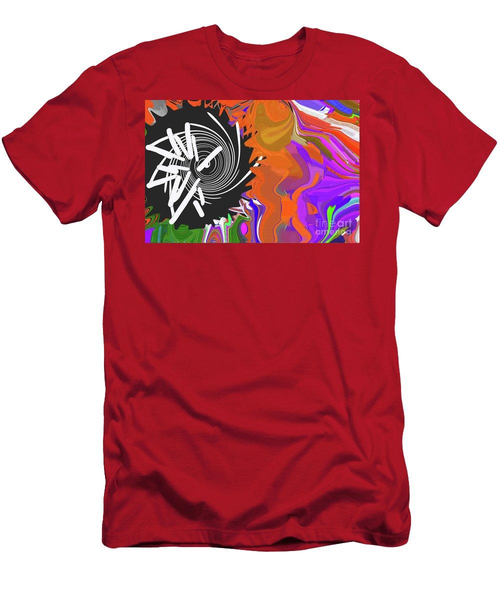 Walter Paul Bebirian Men's T-Shirt (Athletic Fit) featuring the digital art 8-11-2015cabcdefghi by Walter Paul Bebirian