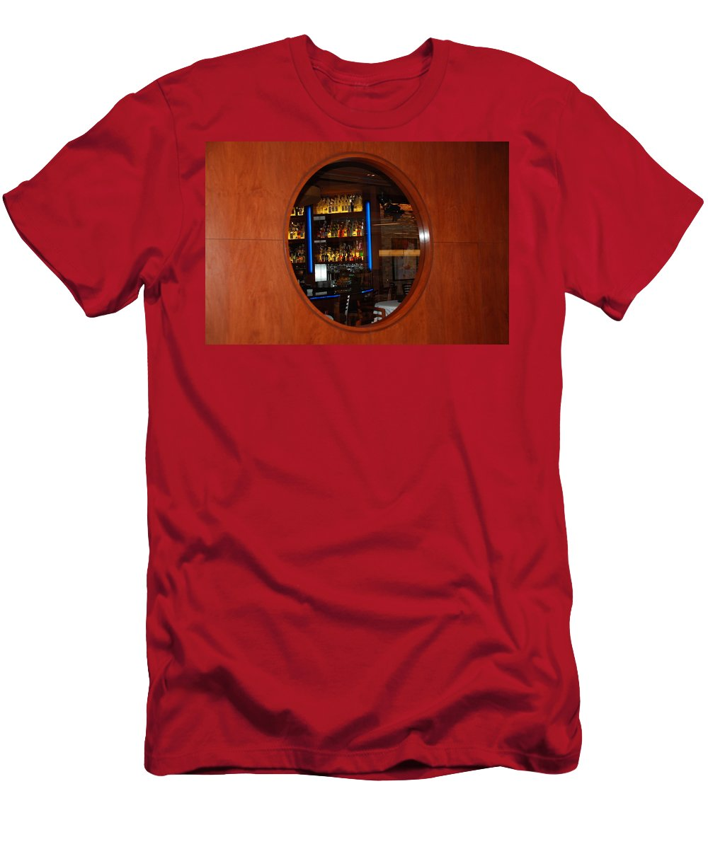 Architecture Men's T-Shirt (Athletic Fit) featuring the photograph A Look Thru The Fishbowl by Rob Hans