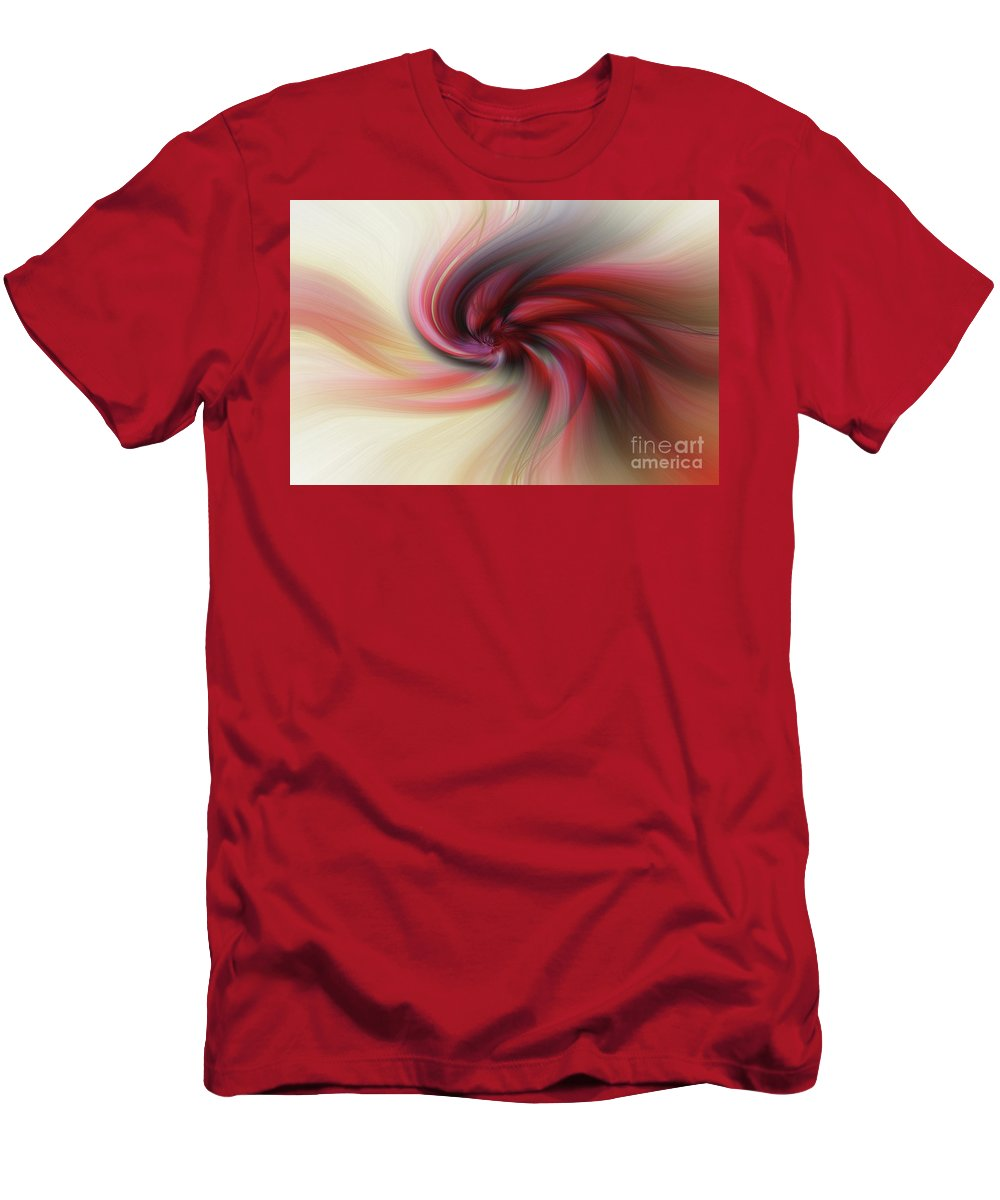 Art Men's T-Shirt (Athletic Fit) featuring the photograph Abstract 0902 K by Howard Roberts