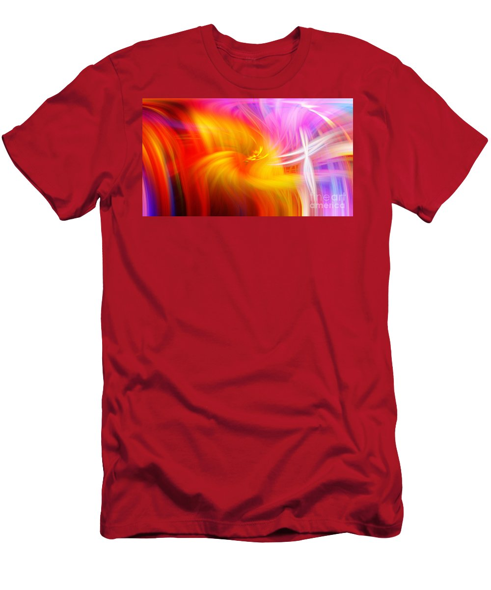 Art T-Shirt featuring the photograph Abstract 0902 L by Howard Roberts