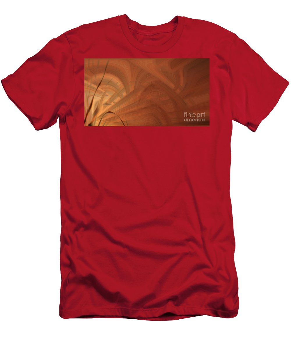 Art Men's T-Shirt (Athletic Fit) featuring the photograph Abstract 0902 T by Howard Roberts