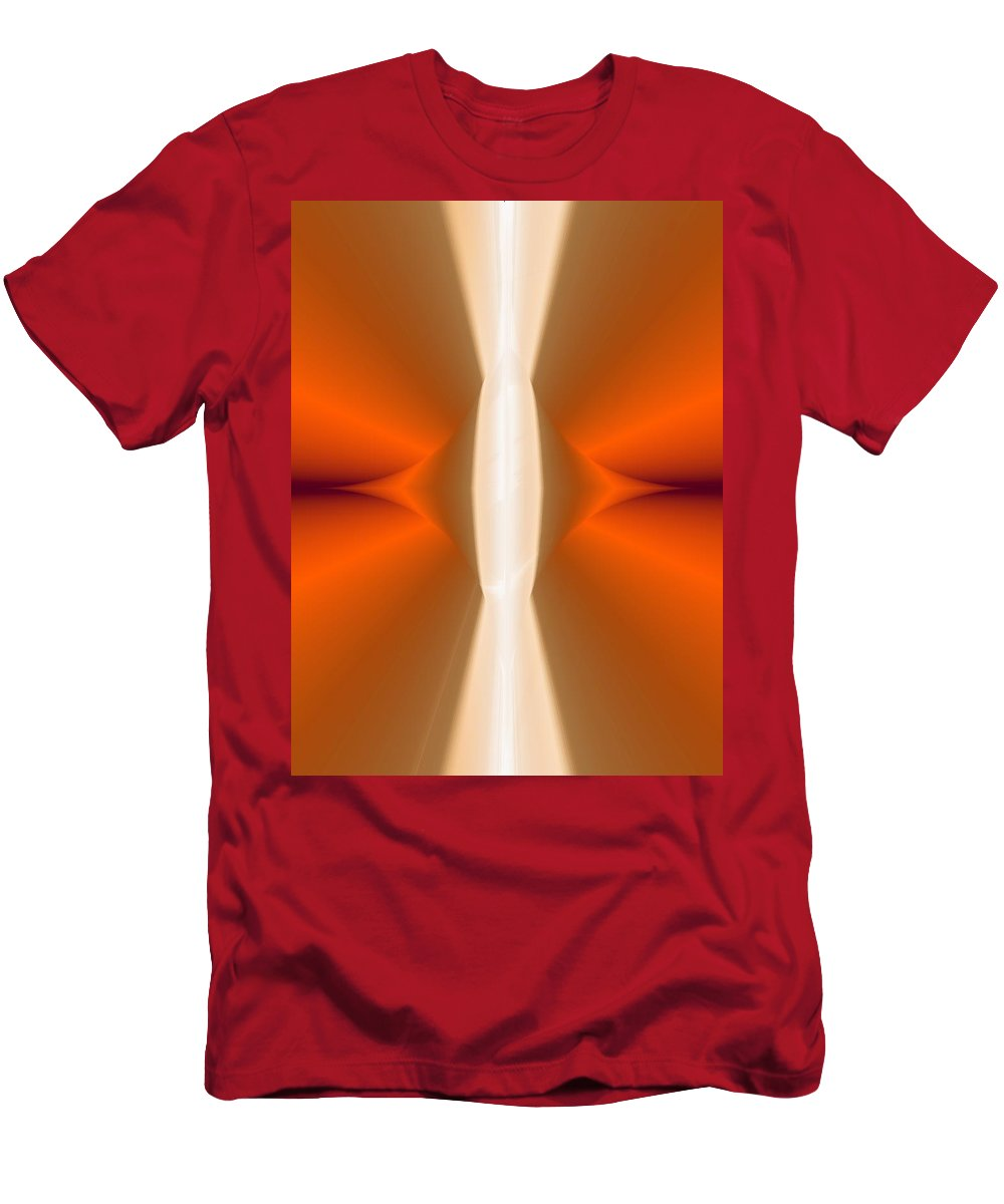 Digital Painting Men's T-Shirt (Athletic Fit) featuring the digital art Abstract309b by David Lane