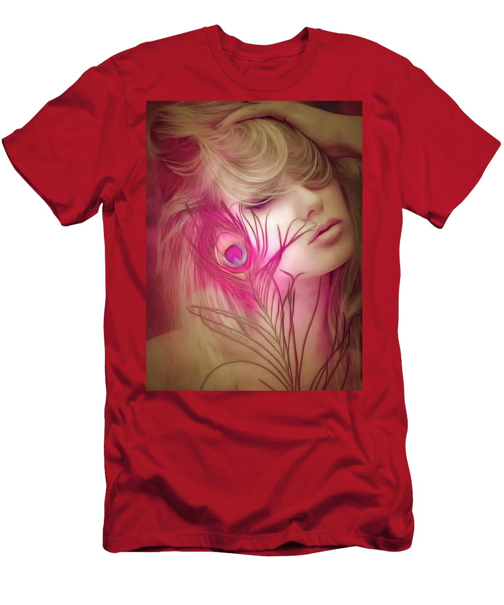 Ambiance Men's T-Shirt (Athletic Fit) featuring the digital art Ambiance by Catherine Lott