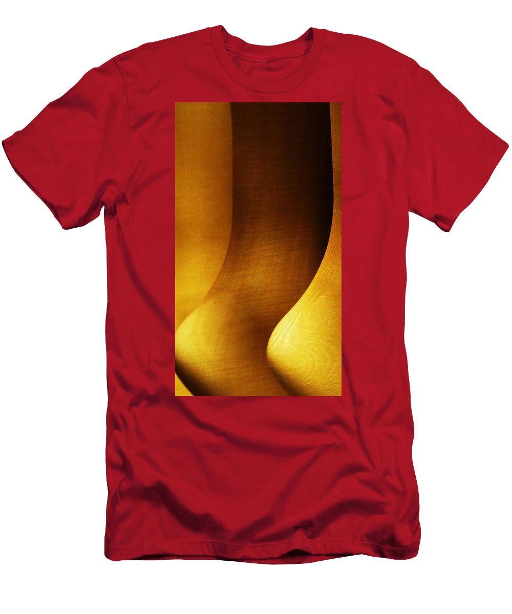 Abstract Men's T-Shirt (Athletic Fit) featuring the photograph Ankles by John King