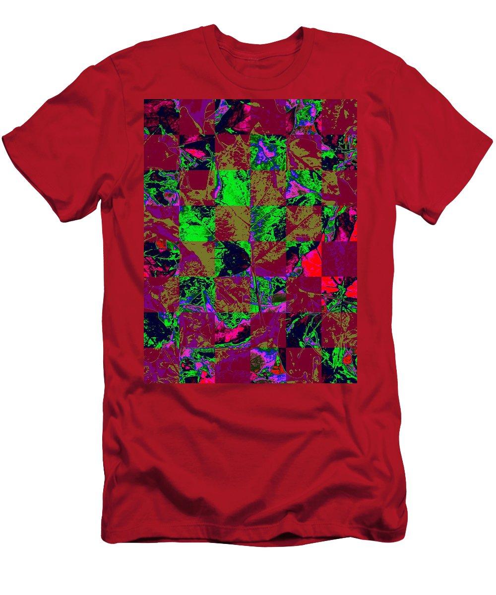 Autumn Men's T-Shirt (Athletic Fit) featuring the digital art Autumn Solace by Tim Allen