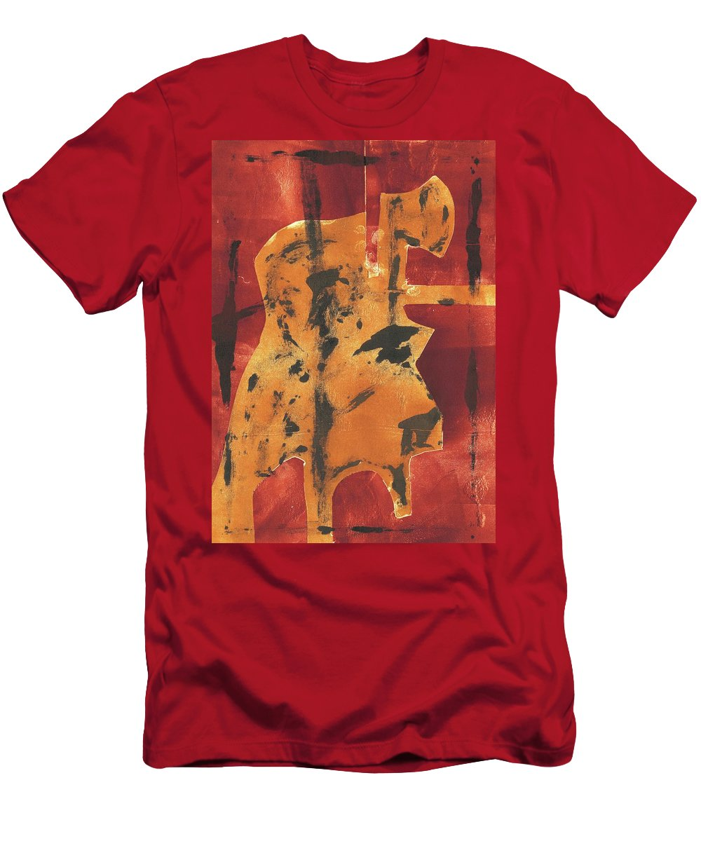 Axeman Men's T-Shirt (Athletic Fit) featuring the relief Axeman 3 by Edgeworth DotBlog