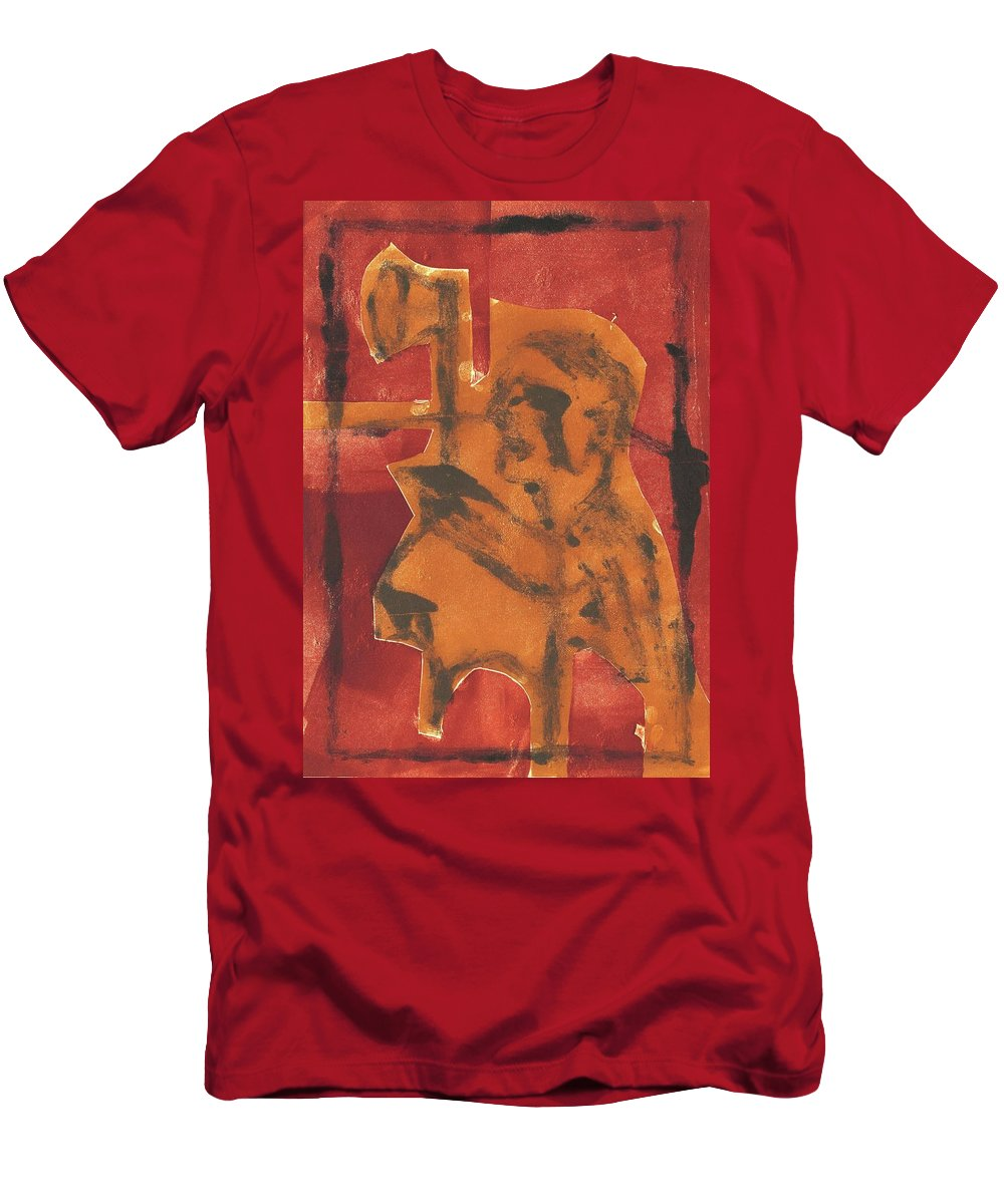 Axeman Men's T-Shirt (Athletic Fit) featuring the relief Axeman 11 by Edgeworth DotBlog