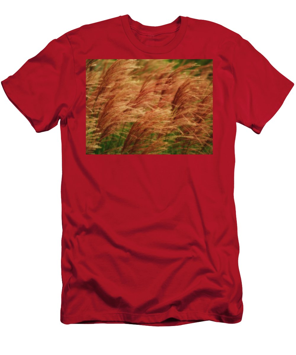 Win Men's T-Shirt (Athletic Fit) featuring the photograph Blowing In The Wind by Gaby Swanson
