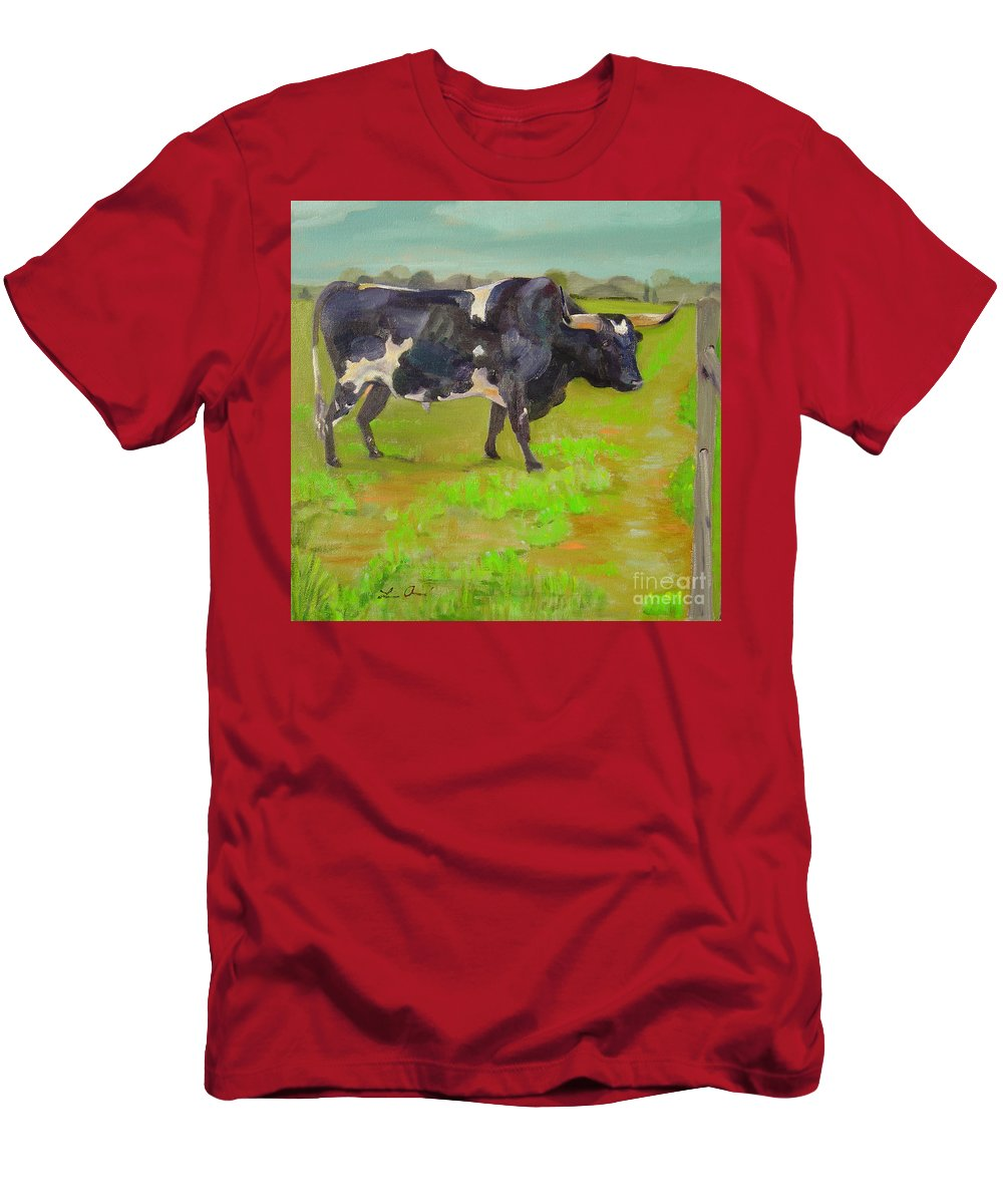 Southwest T-Shirt featuring the painting Bold Beauty by Lilibeth Andre