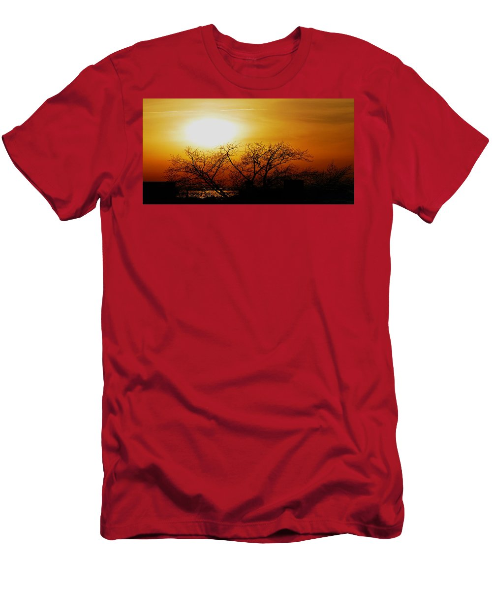 Landscape T-Shirt featuring the photograph Branches by Kendall Eutemey