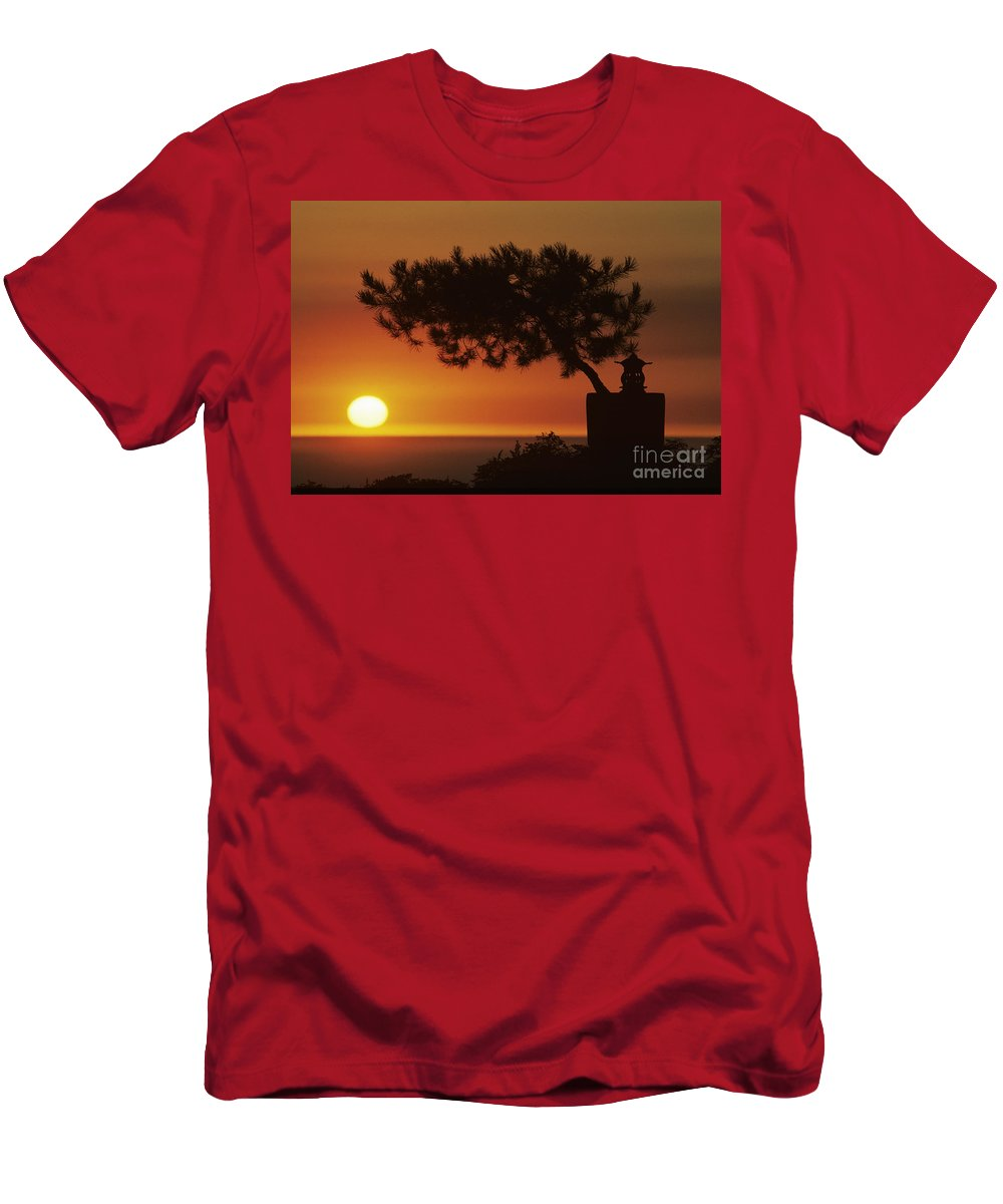 America Men's T-Shirt (Athletic Fit) featuring the photograph California, Big Sur Coast by Larry Dale Gordon - Printscapes