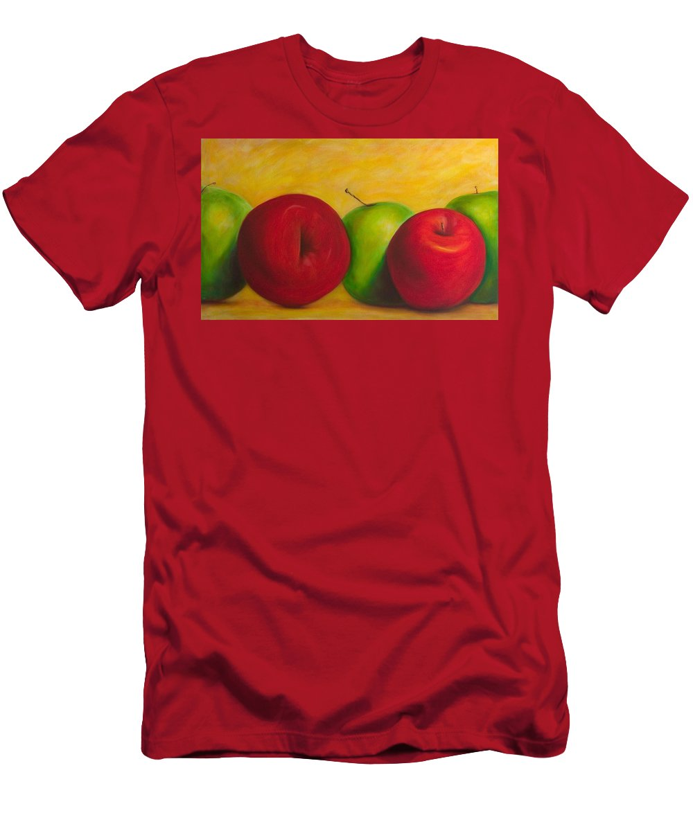 Still Life Men's T-Shirt (Athletic Fit) featuring the painting Cancan by Shannon Grissom