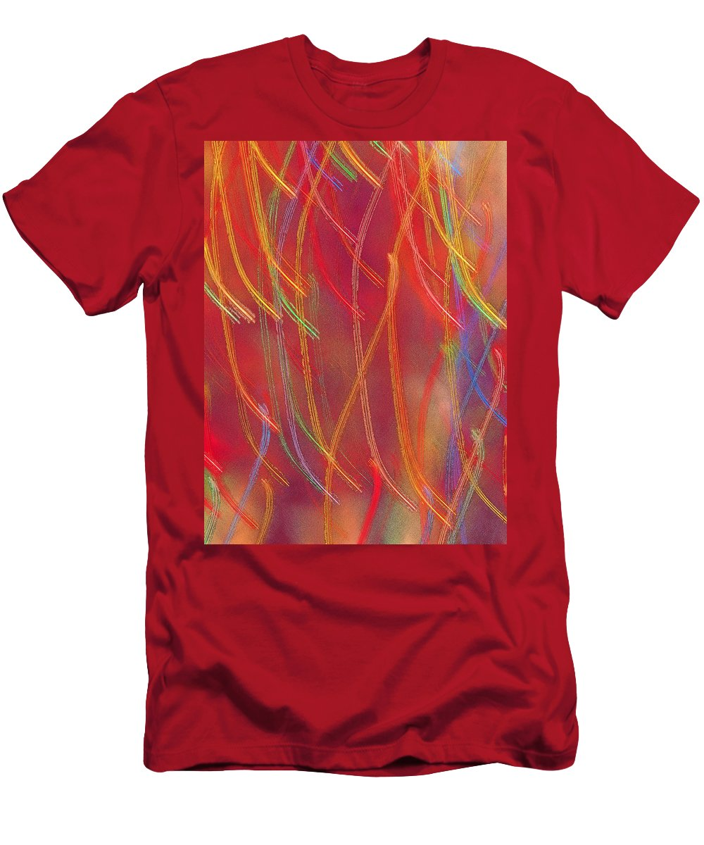 Abstract Men's T-Shirt (Athletic Fit) featuring the photograph Celebration by Gaby Swanson