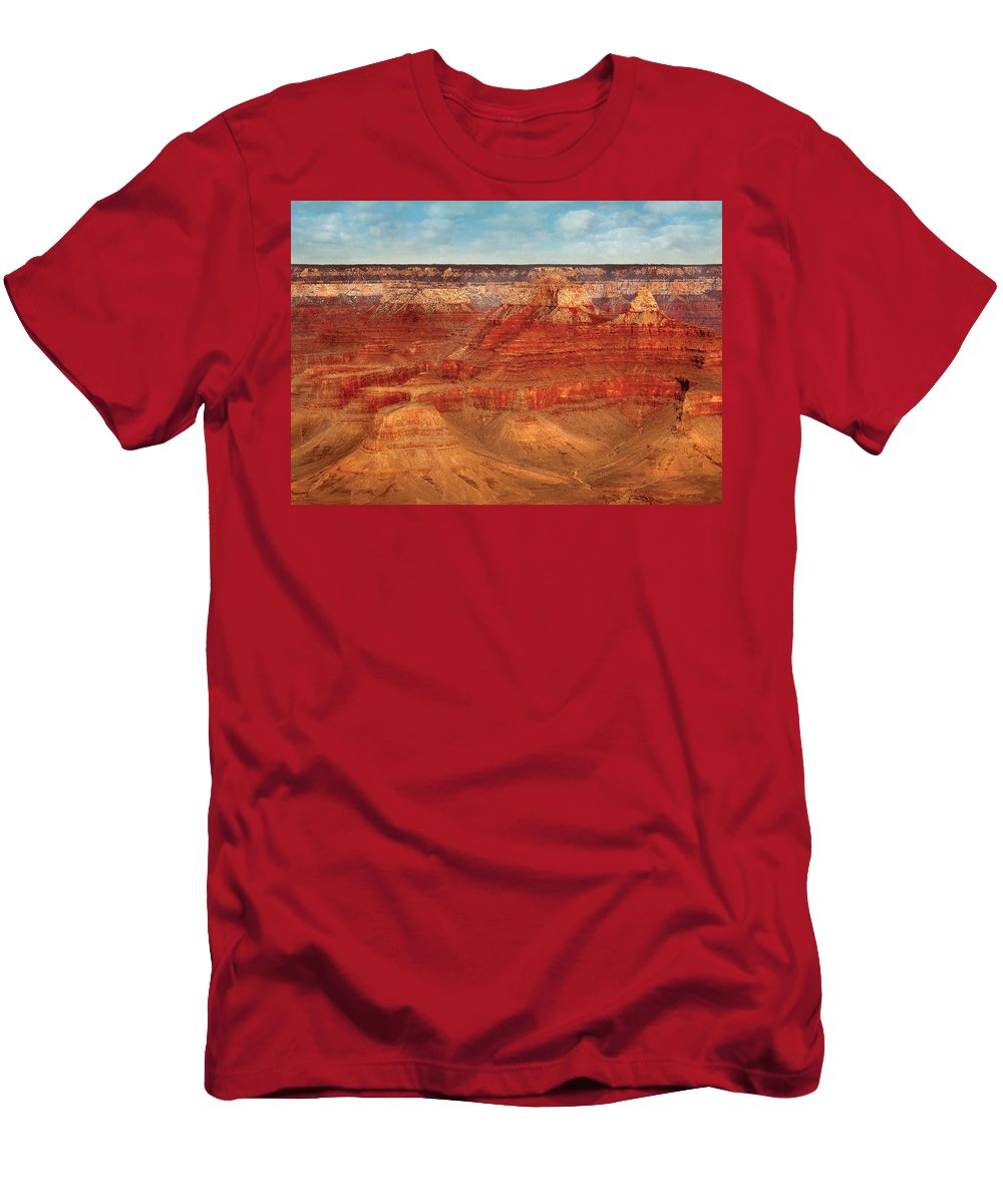 Savad Men's T-Shirt (Athletic Fit) featuring the photograph City - Arizona - The Grand Canyon by Mike Savad