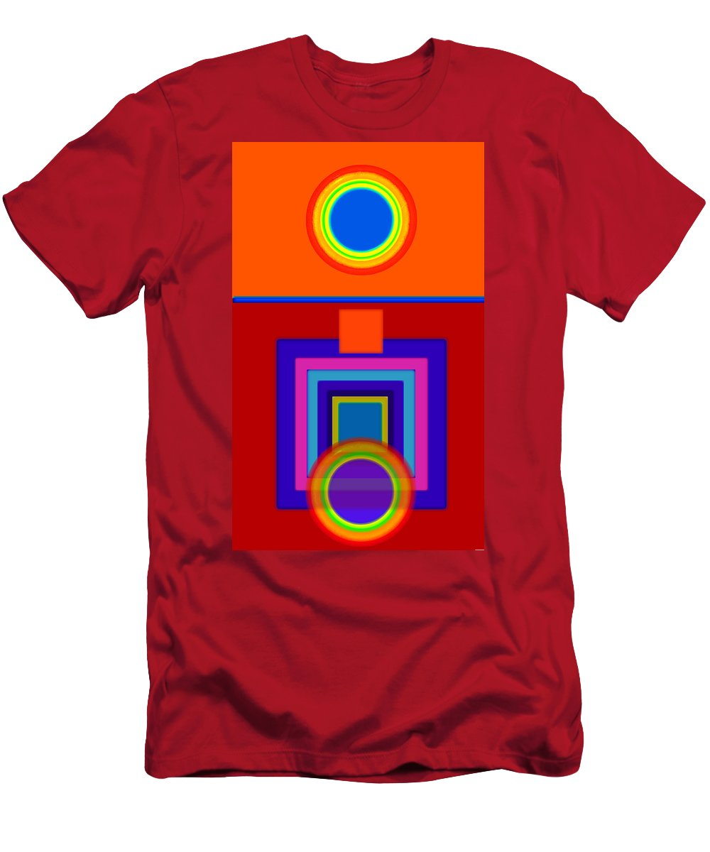 Classical Men's T-Shirt (Athletic Fit) featuring the painting Classical Wheels by Charles Stuart