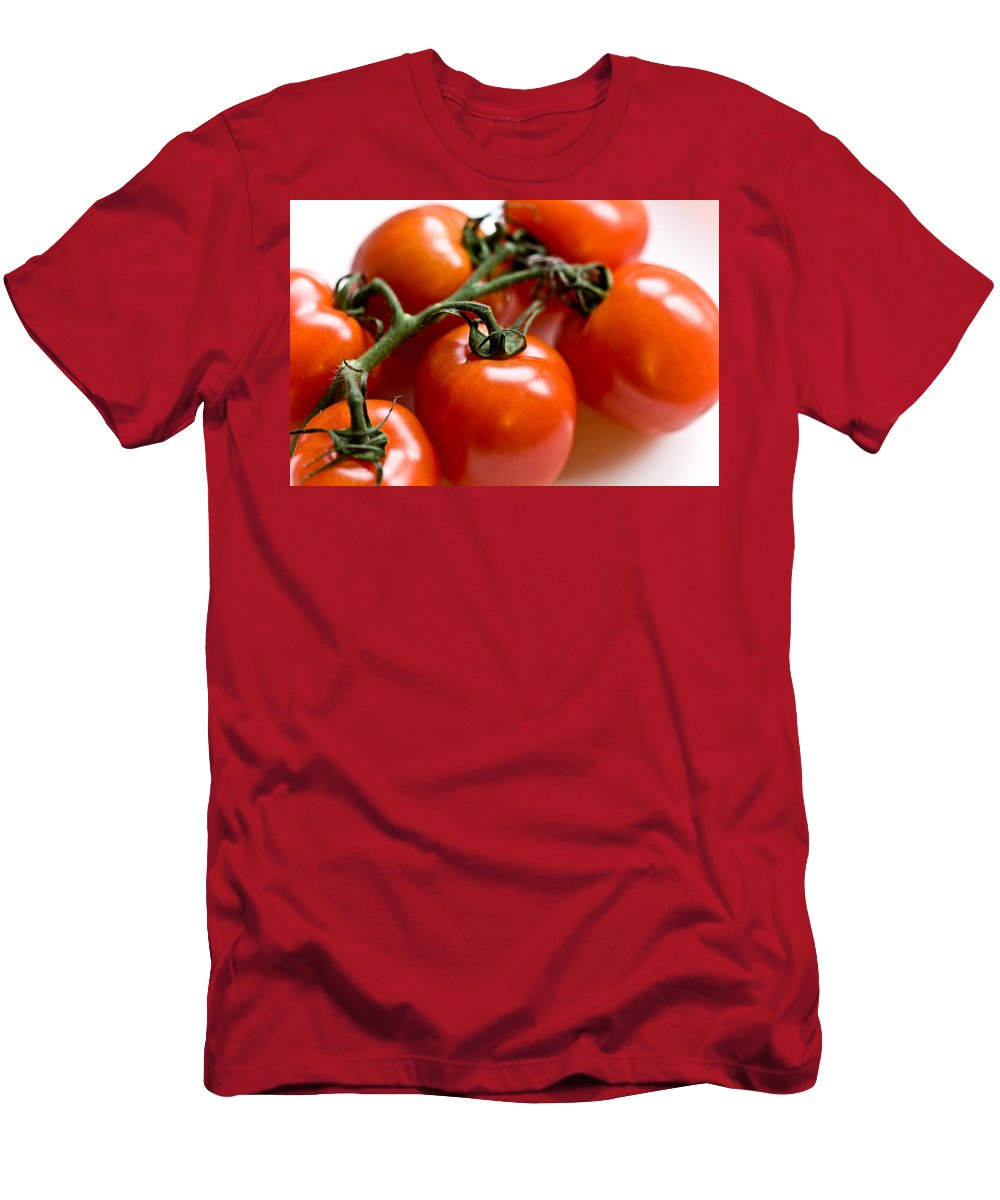 Canon Men's T-Shirt (Athletic Fit) featuring the photograph Cluster Of Tomatoes by Hakon Soreide
