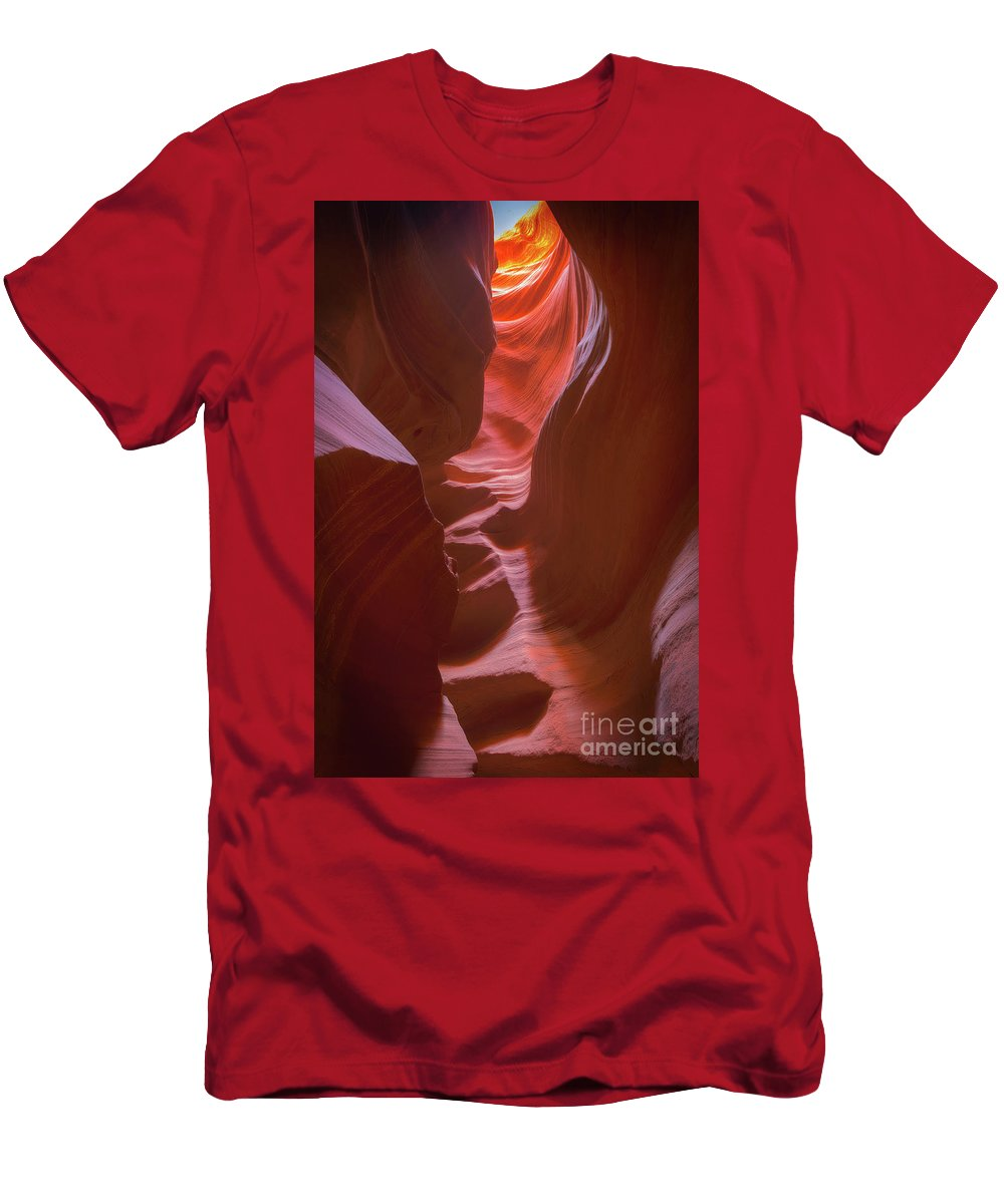 Antelope Men's T-Shirt (Athletic Fit) featuring the photograph Colorful Canyons by Tod and Cynthia Grubbs