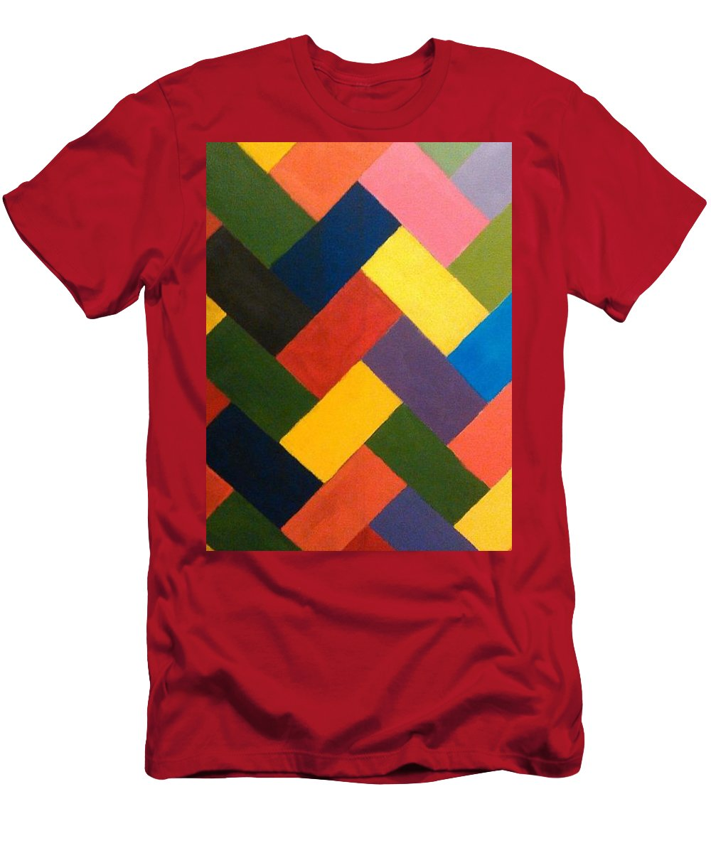 Abstract T-Shirt featuring the painting ColorPS by Andrew Johnson
