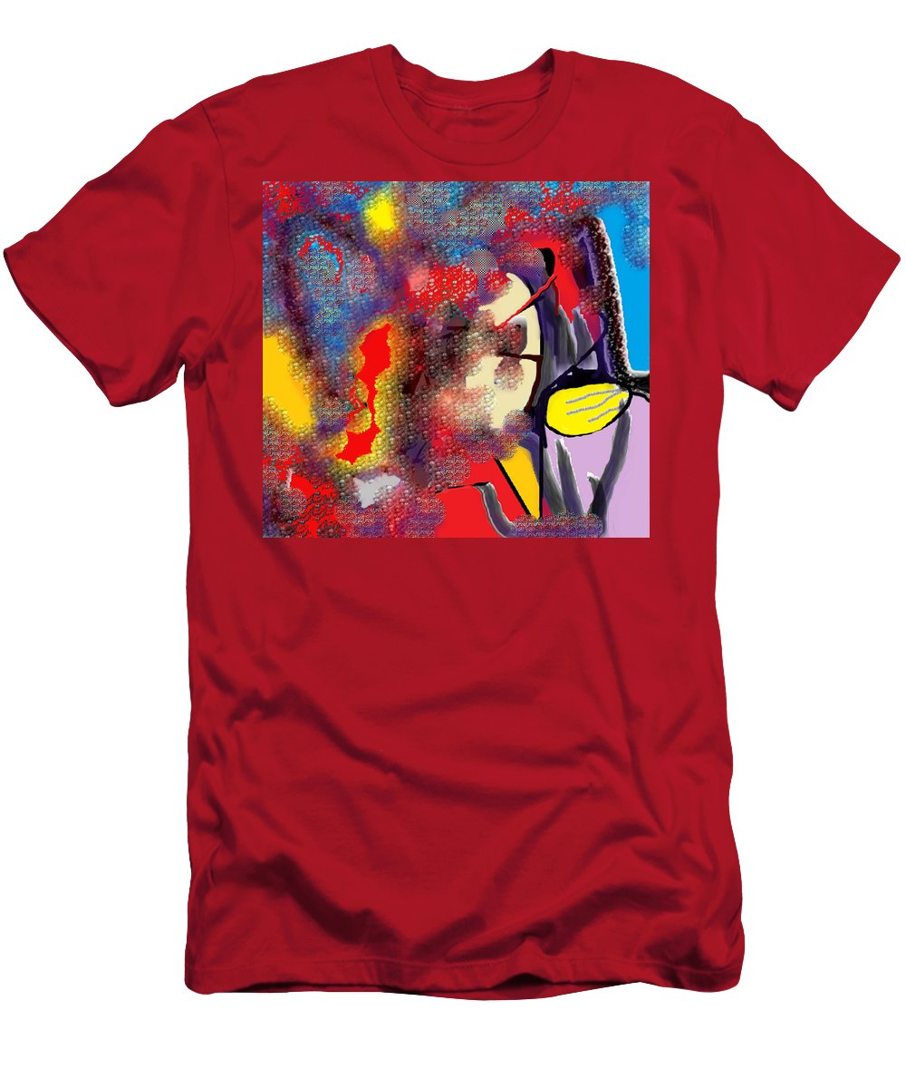 Abstract T-Shirt featuring the digital art Destiny by Ian MacDonald