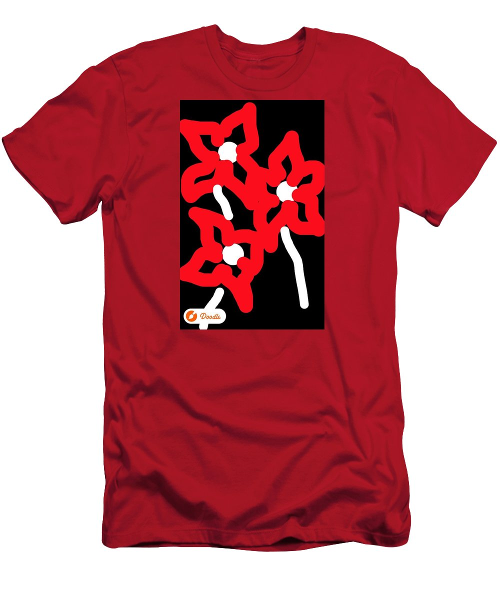 Men's T-Shirt (Athletic Fit) featuring the photograph Doodles From The Enema Table 6 by Michele Monk