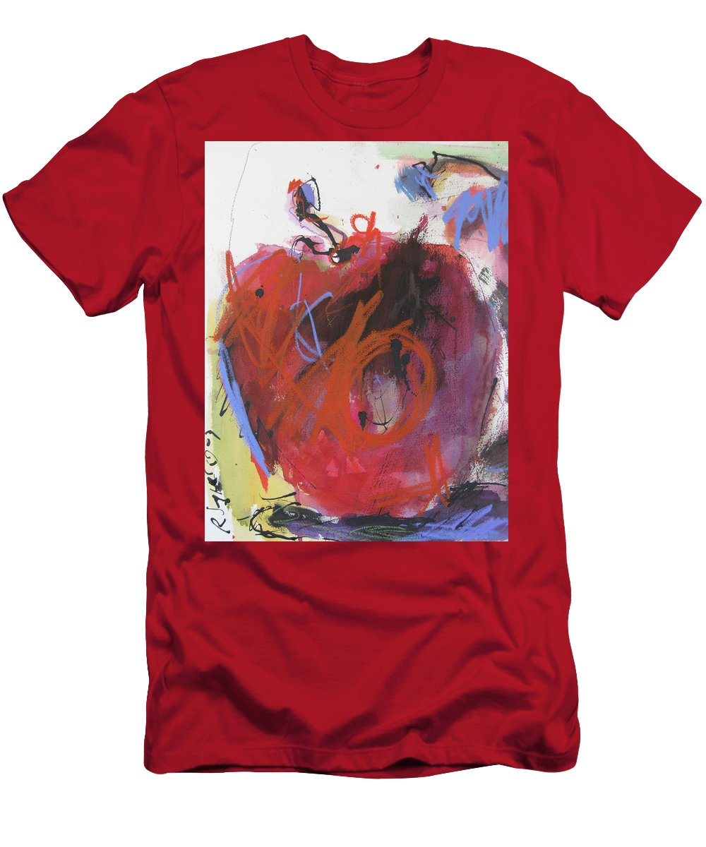 Apple Men's T-Shirt (Athletic Fit) featuring the painting Dr. Repellent by Robert Joyner