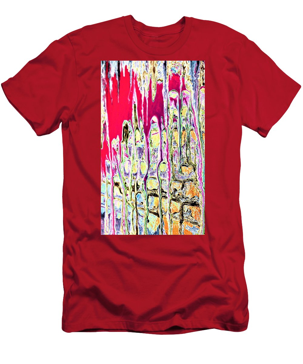 Dream Men's T-Shirt (Athletic Fit) featuring the painting Dream On by Jacqueline McReynolds
