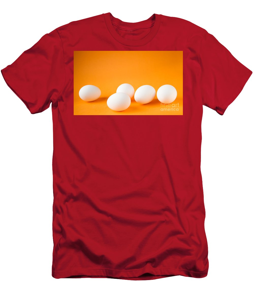 Egg Men's T-Shirt (Athletic Fit) featuring the photograph Eggs by Kati Finell