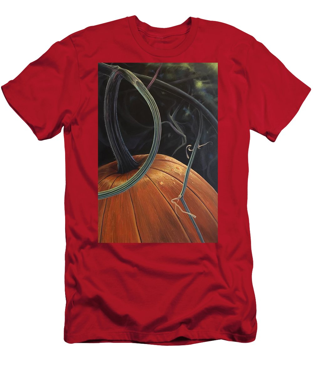 Pumpkin T-Shirt featuring the painting Enchantment by Hunter Jay