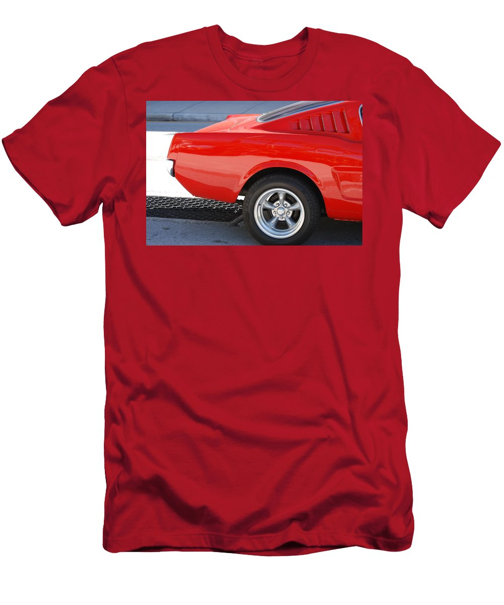 Ford Men's T-Shirt (Athletic Fit) featuring the photograph Fastback Mustang by Rob Hans