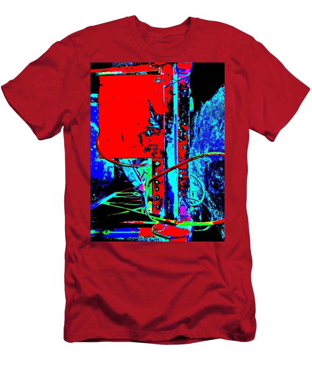 Abstract Men's T-Shirt (Athletic Fit) featuring the photograph Feb 2016 20 by George Ramos