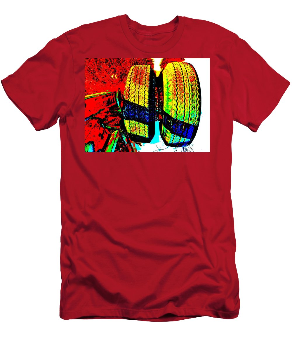 Abstract Men's T-Shirt (Athletic Fit) featuring the photograph Feb 2016 29 by George Ramos