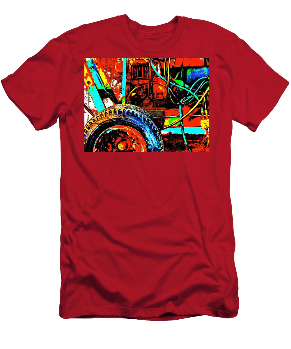 Abstract Men's T-Shirt (Athletic Fit) featuring the photograph Feb 2016 46 by George Ramos