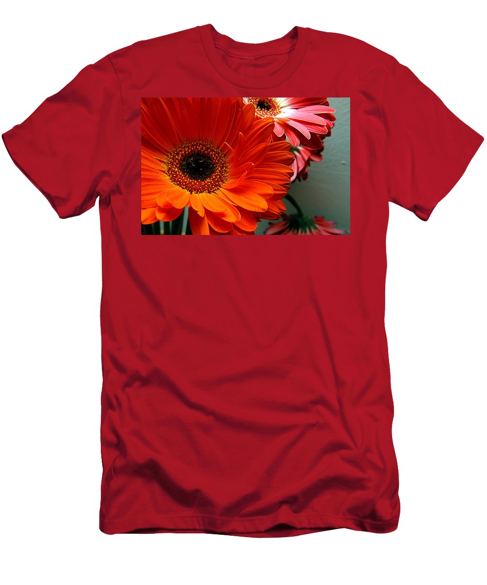 Clay Men's T-Shirt (Athletic Fit) featuring the photograph Floral Art by Clayton Bruster