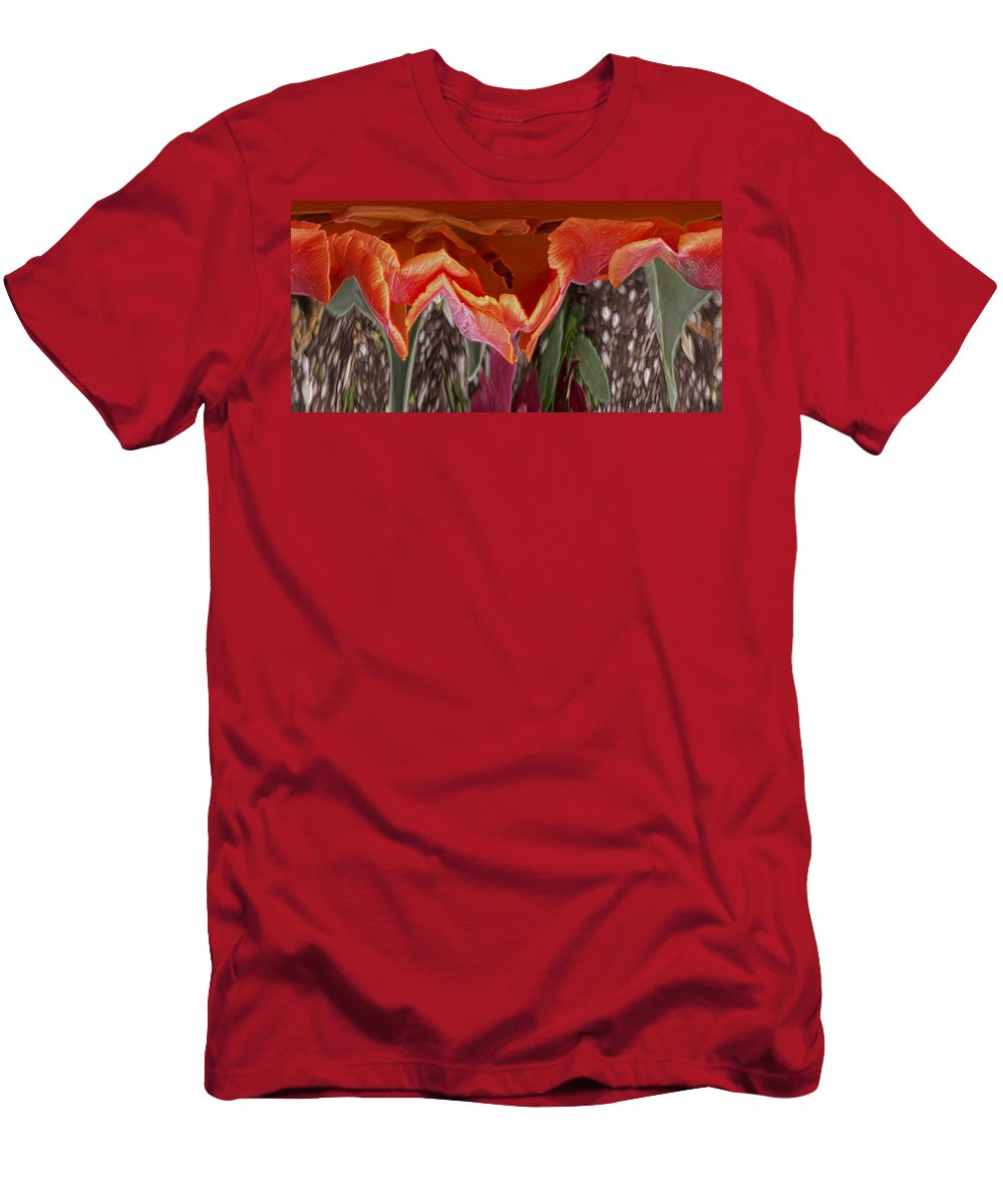 Flower Men's T-Shirt (Athletic Fit) featuring the photograph Flower 4 by Tim Allen