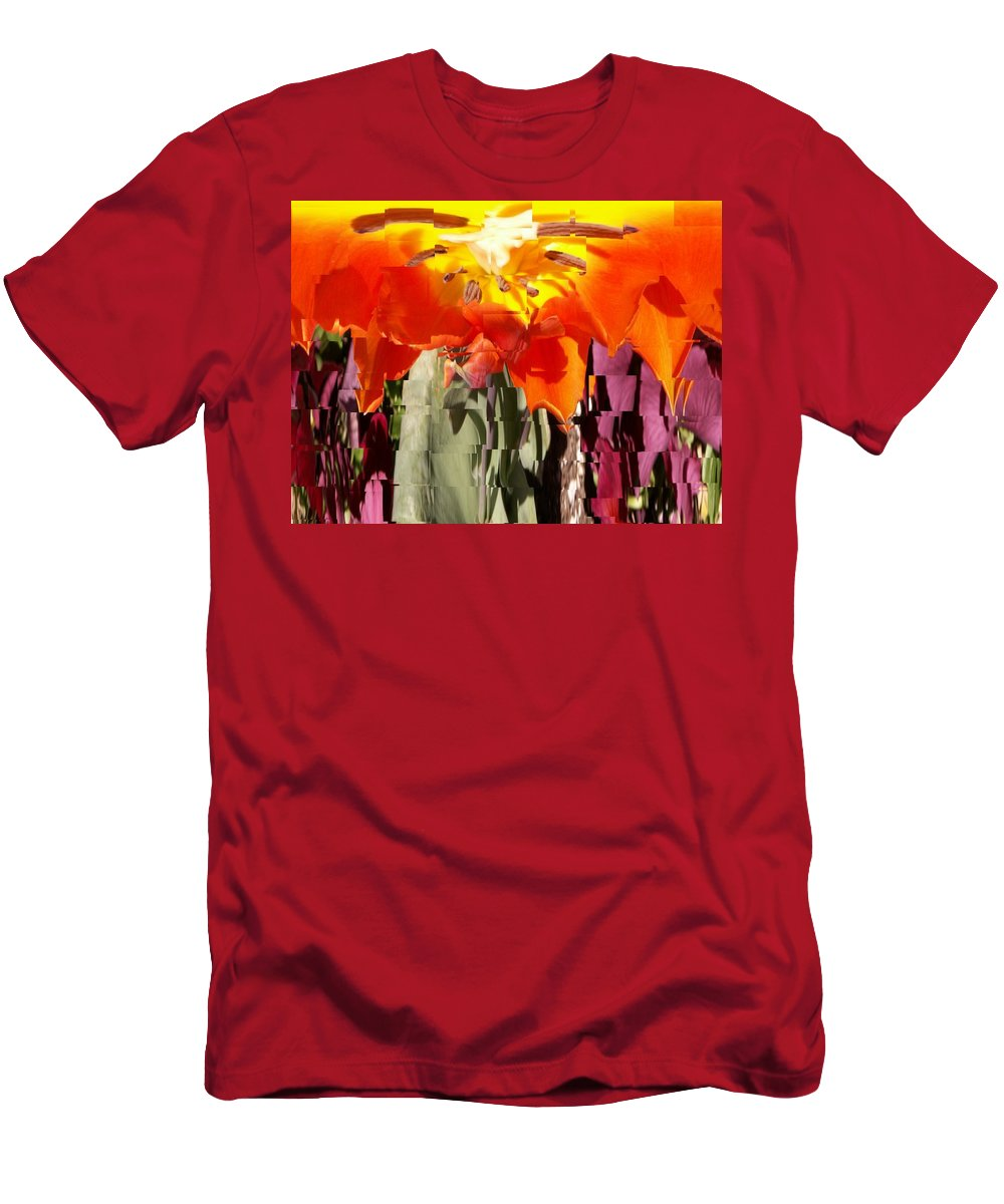 Flower Men's T-Shirt (Athletic Fit) featuring the photograph Flower by Tim Allen