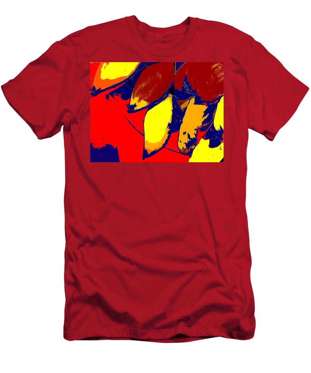 Red Men's T-Shirt (Athletic Fit) featuring the photograph Forbidden Fruit by Ian MacDonald