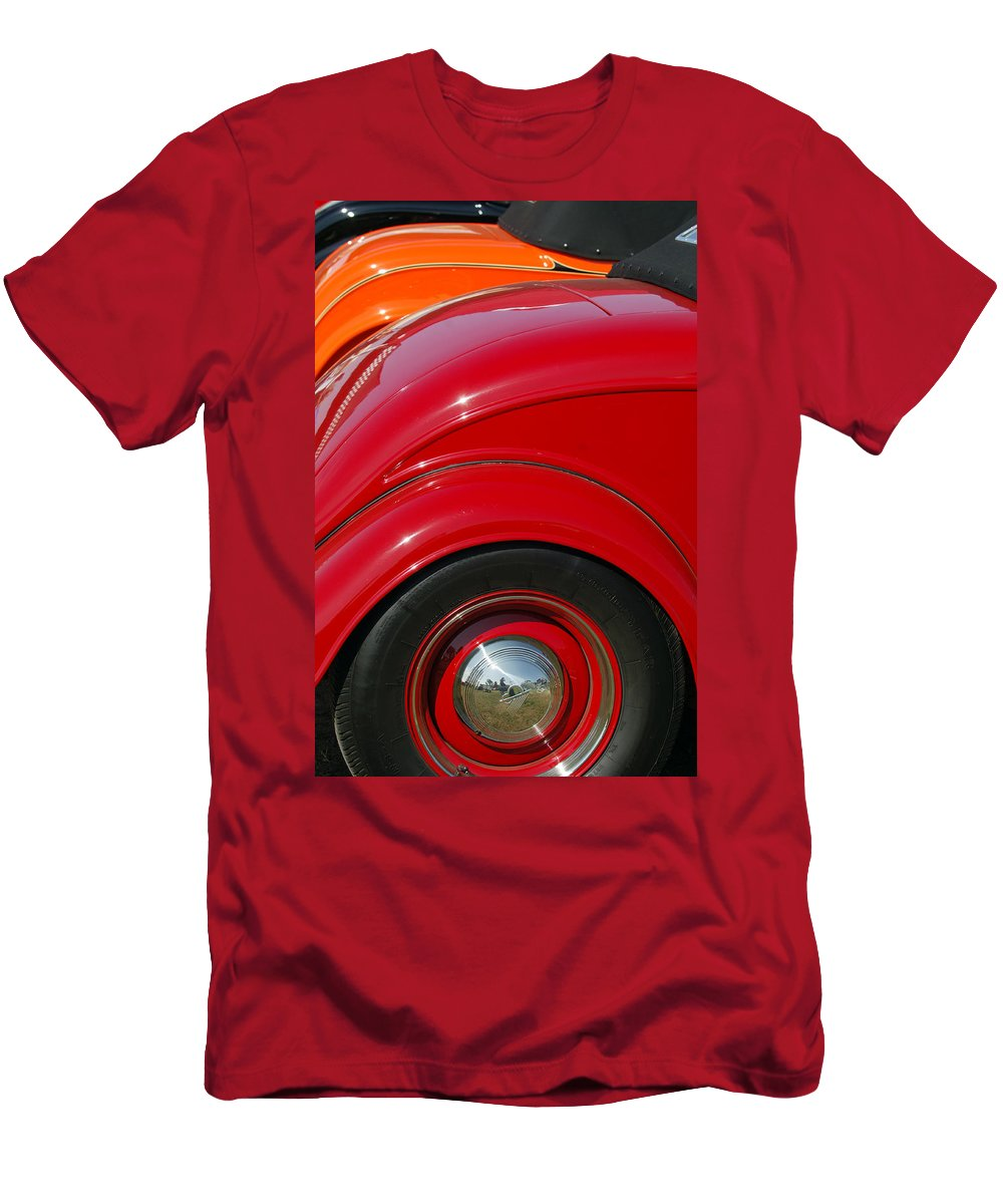 Car Men's T-Shirt (Athletic Fit) featuring the photograph Ford Roadsters by Jill Reger